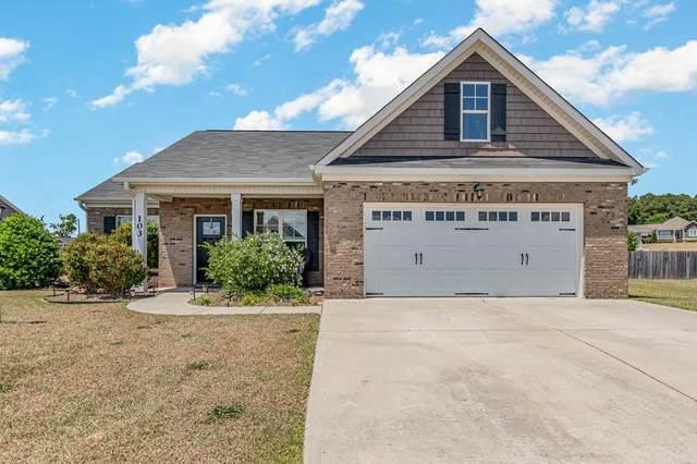 103 Stillwater Creek Circle, Goldsboro, NC 27534 (#77202) :: The Beth Hines Team