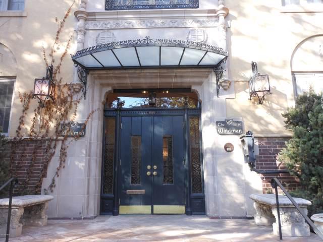 1515 E 9th Avenue #207, Denver, CO 80218 (MLS #19-1463) :: The Real Estate Company