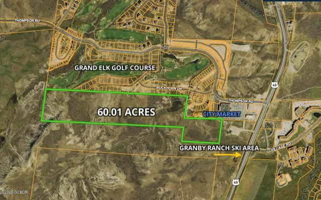 TBD Elk Crossing Drive, Granby, CO 80446 (MLS #20-1642) :: The Real Estate Company