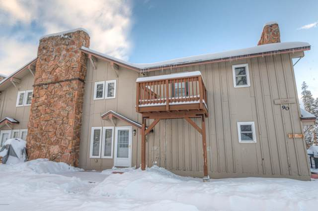 90 Hideaway #2, Winter Park, CO 80482 (MLS #20-1689) :: The Real Estate Company