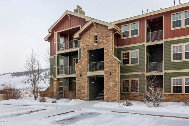 154 Village Rd C 302, Granby, CO 80446 (MLS #20-4) :: The Real Estate Company