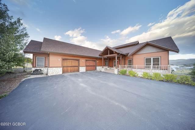 895 Saddle Ridge Circle, Granby, CO 80446 (MLS #21-1514) :: The Real Estate Company