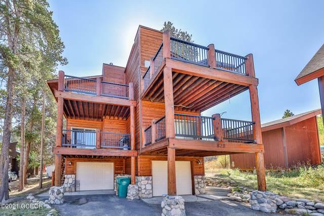 822 Badger Lane, Fraser, CO 80442 (MLS #21-1522) :: The Real Estate Company