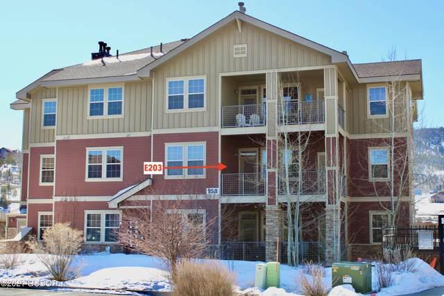 158 Village Road E203, Granby, CO 80446 (MLS #21-495) :: The Real Estate Company