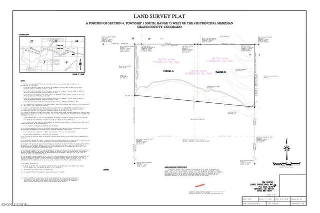 Tract 11 Gcr 841, Tabernash, CO 80478 (MLS #21-673) :: The Real Estate Company
