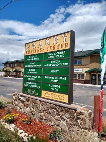 62543 Us Hwy 40 F, Granby, CO 80446 (MLS #19-925) :: The Real Estate Company