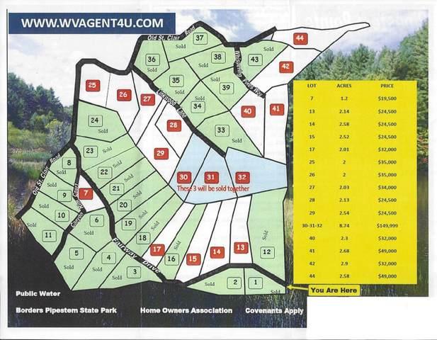 Lots 30-32 Pipestem Pointe, PIPESTEM, WV 25979 (MLS #20-1268) :: Greenbrier Real Estate Service
