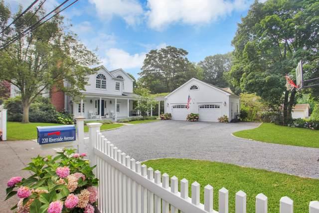 220 Riverside Avenue, Riverside, CT 06878 (MLS #110608) :: Frank Schiavone with William Raveis Real Estate