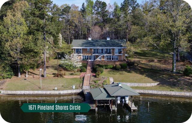 1671 Pineland Shores Cr., Cross Hill, SC 29332 (MLS #115189) :: Premier Properties Real Estate