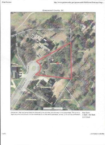 106 Prestwick Court, Greenwood, SC 29646 (MLS #109963) :: Premier Properties Real Estate