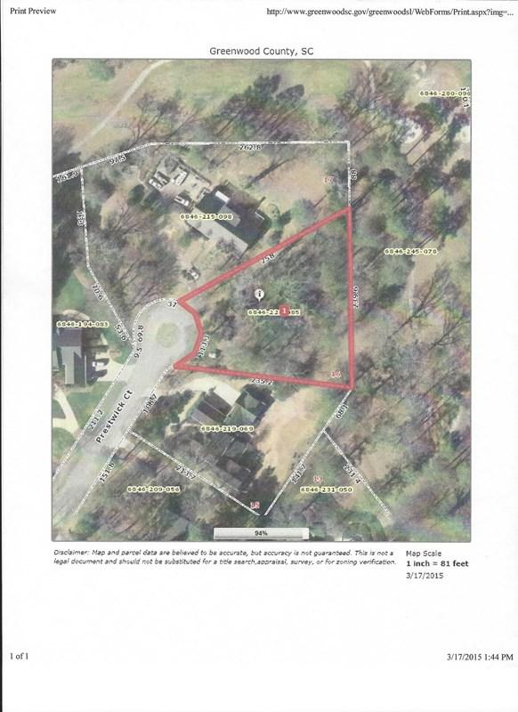 106 Prestwick, Greenwood, SC 29648 (MLS #113067) :: Premier Properties Real Estate