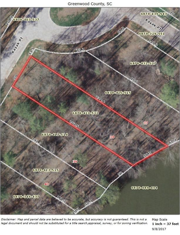 239 Kayak, Greenwood, SC 29649 (MLS #114474) :: Premier Properties Real Estate