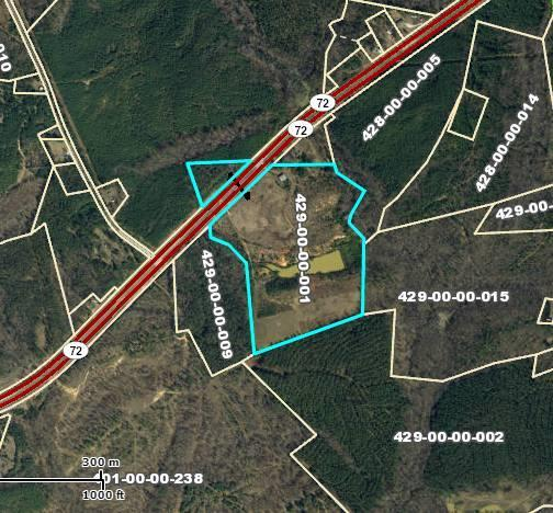 Hwy 72 Hwy 72, Cross Hill, SC 29332 (MLS #115455) :: Premier Properties Real Estate