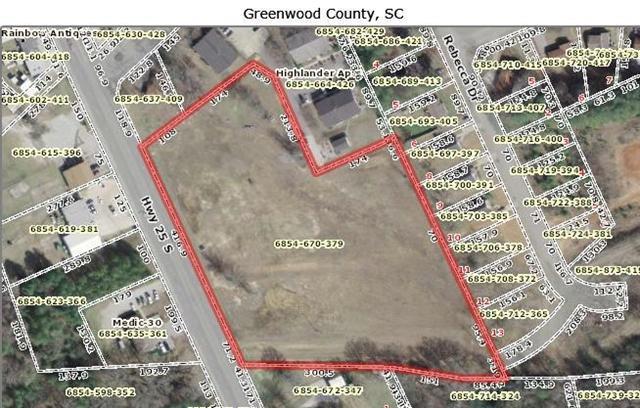 0 Highway 25 South, Greenwood, SC 29646 (MLS #117816) :: Premier Properties Real Estate