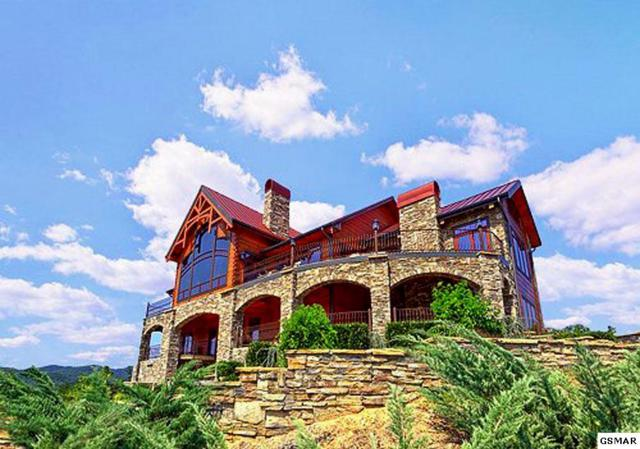 "2410 Smoky Vista Way ""Journey's End"", Sevierville, TN 37862 (#212257) :: The Terrell Team"