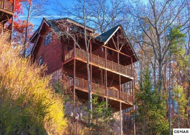 """2310 Hollow Branch Way """"Papa Bear Lodg, Sevierville, TN 37862 (#214446) :: Colonial Real Estate"""