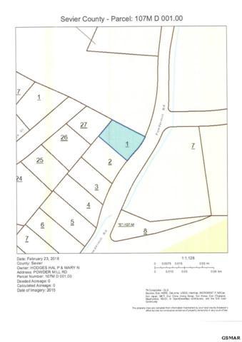 LOT 13 Powdermill Rd, Sevierville, TN 37876 (#214666) :: Billy Houston Group