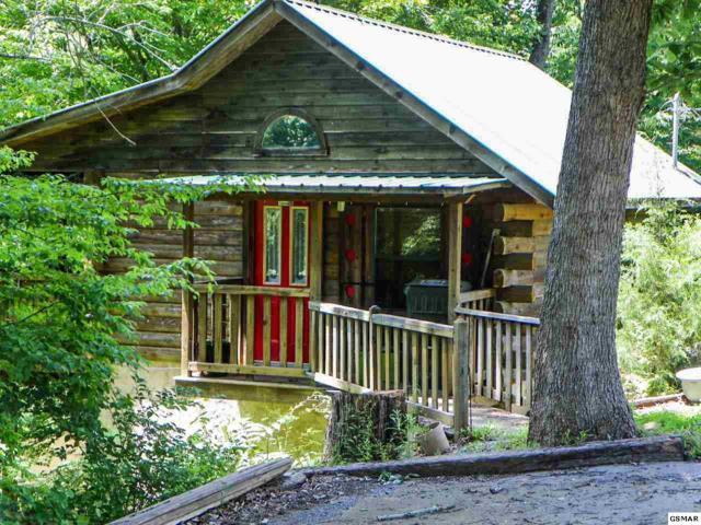 "1890 Pittman Center Road Cabin#1, ""Littl, Sevierville, TN 37876 (#217327) :: The Terrell Team"