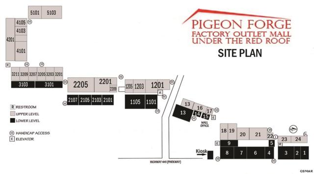 2850 Parkway Suite #5, Pigeon Forge, TN 37863 (#218122) :: The Terrell Team