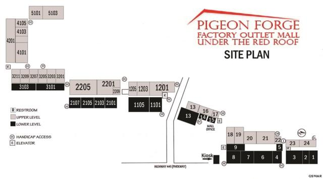 2850 Parkway Suite 15, Pigeon Forge, TN 37863 (#218123) :: The Terrell Team