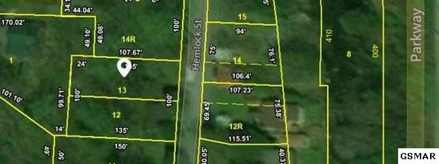 Lot Lot 13 Hemlock Street Lot 13, Gatlinburg, TN 37738 (#218144) :: Billy Houston Group