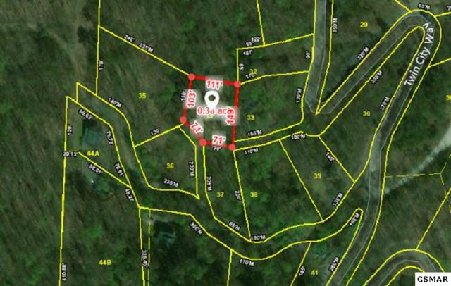 Lot 37 Twin City Way, Pigeon Forge, TN  (#219455) :: SMOKY's Real Estate LLC
