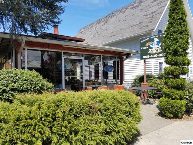 1017 Parkway Luigi's Pizza, Gatlinburg, TN 37738 (#221666) :: Prime Mountain Properties