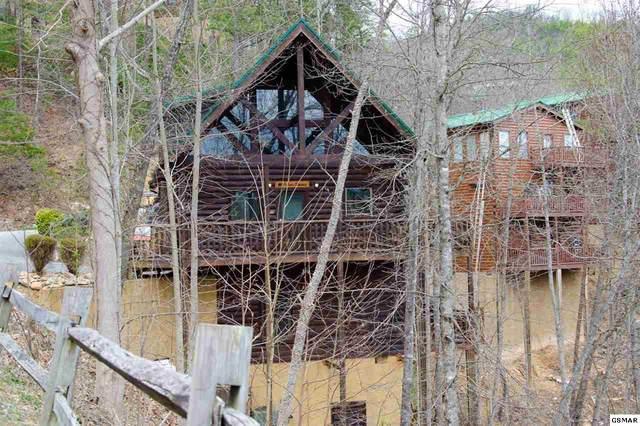 2251 Upper Middle Creek Rd  #27 Hudson's Hideaw, Sevierville, TN 37876 (#227235) :: Jason White Team | Century 21 Four Seasons