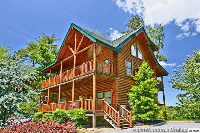 1663 Mountain Lodge Way, Sevierville, TN 37876 (#227681) :: Four Seasons Realty, Inc
