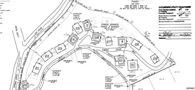 LOT 23 Chimney Tops Way, Gatlinburg, TN 37738 (#229125) :: Four Seasons Realty, Inc
