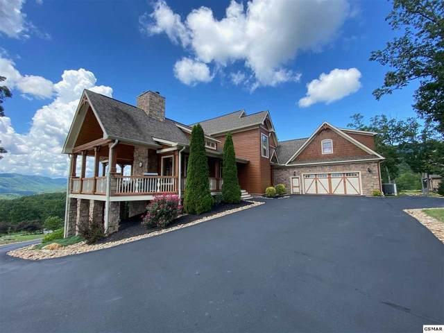 3035 Misty Bluff Trail, Sevierville, TN 37862 (#229410) :: Four Seasons Realty, Inc