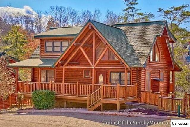Lot 14 Mountain Lodge Way, Sevierville, TN 37862 (#229953) :: Four Seasons Realty, Inc