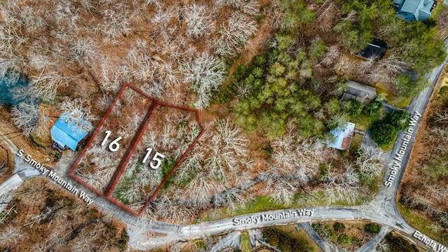 Lot 15 & 16 S Smoky Mountain Way, Sevierville, TN 37876 (#240161) :: The Terrell Team