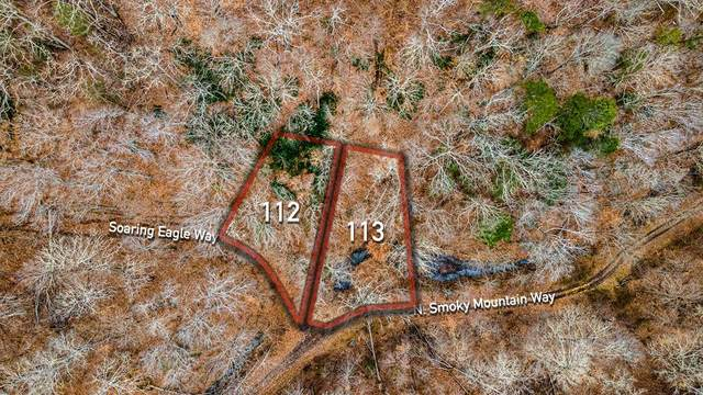 Lot 112&113 Soaring Eagle & N Smoky Mountain Way, Sevierville, TN 37876 (#240163) :: Century 21 Legacy