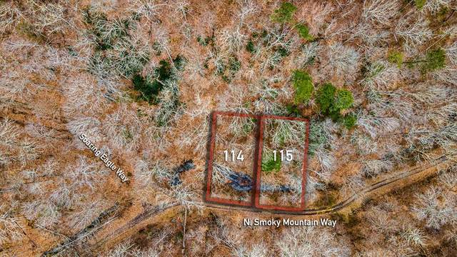 Lot 114&115 N Smoky Mountain Way, Sevierville, TN 37876 (#240164) :: Century 21 Legacy