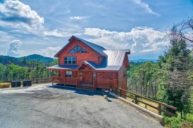 "1547 Majestic Mountain Drive ""Above It All"", Sevierville, TN 37876 (#241971) :: Colonial Real Estate"