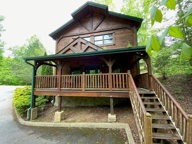 666 Gatlinburg Falls Way, Gatlinburg, TN 37738 (#242460) :: Colonial Real Estate