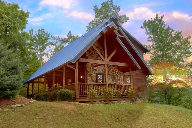 "2215 Buck Tale Way ""Diamond Mine"", Gatlinburg, TN 37738 (#242562) :: Colonial Real Estate"