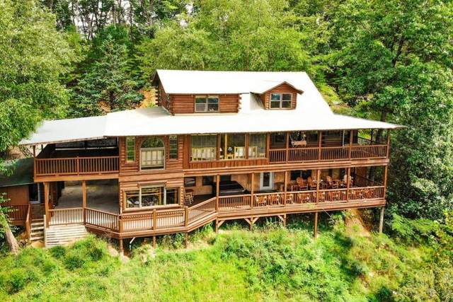 1727 Oakridge View Way, Pigeon Forge, TN 37876 (#243211) :: The Terrell-Drager Team