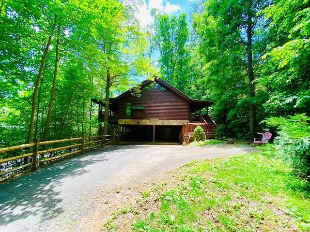 "4408 Ashli Erin Way ""The Tree House, Gatlinburg, TN 33738 (#243262) :: Colonial Real Estate"