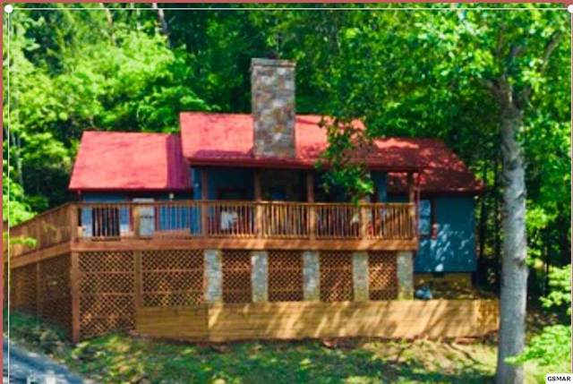136 Smoky Mountain Way, Sevierville, TN 37862 (#244242) :: The Terrell-Drager Team