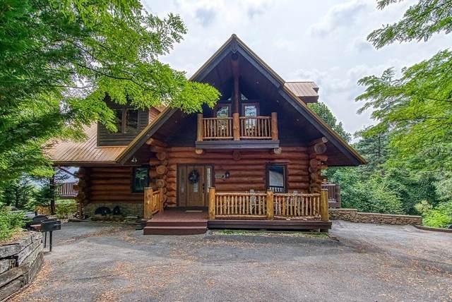 "439 Coyote Road ""Cabin Fever"", Gatlinburg, TN 37738 (#244293) :: JET Real Estate"