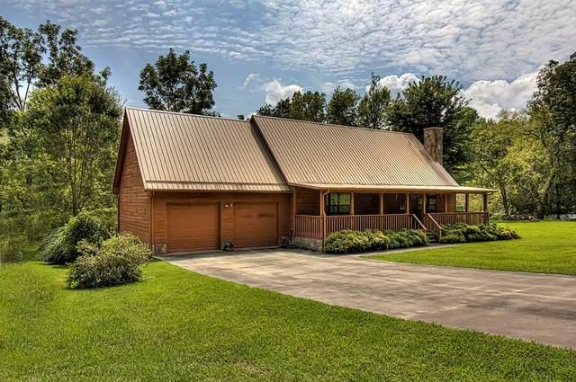 3594 Mountain Creek Way, Cosby, TN 37722 (#244909) :: Century 21 Legacy