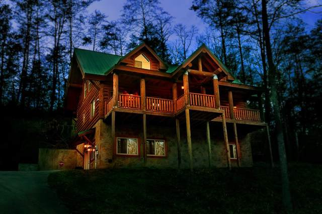 """2605 Sulpher Springs Way """"A Great Escape, Sevierville, TN 37862 (#245594) :: Colonial Real Estate"""