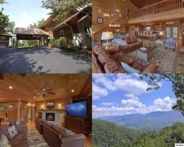 """5055 Riversong Way """"Greenbrier Lod, Sevierville, TN 37876 (#204617) :: Colonial Real Estate"""