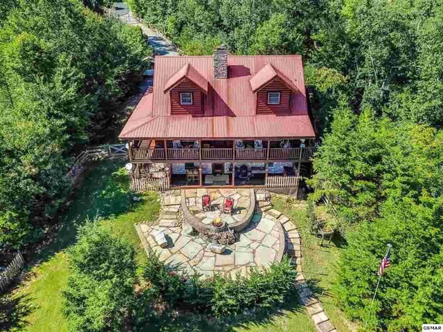 536 Pinnacle Vista Rd Lots 37 & 38, Gatlinburg, TN 37738 (#224523) :: Colonial Real Estate