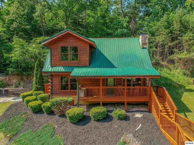 621 Chickasaw Gap Way, Pigeon Forge, TN 37863 (#228194) :: Four Seasons Realty, Inc