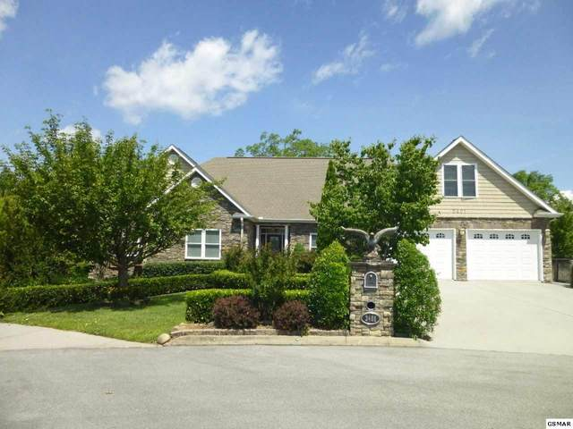 2401 Cross View Dr, Pigeon Forge, TN 37863 (#228865) :: Four Seasons Realty, Inc