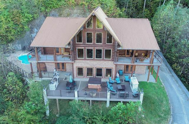 4314 Carolina Cove Way, Pigeon Forge, TN 37863 (#241078) :: Colonial Real Estate