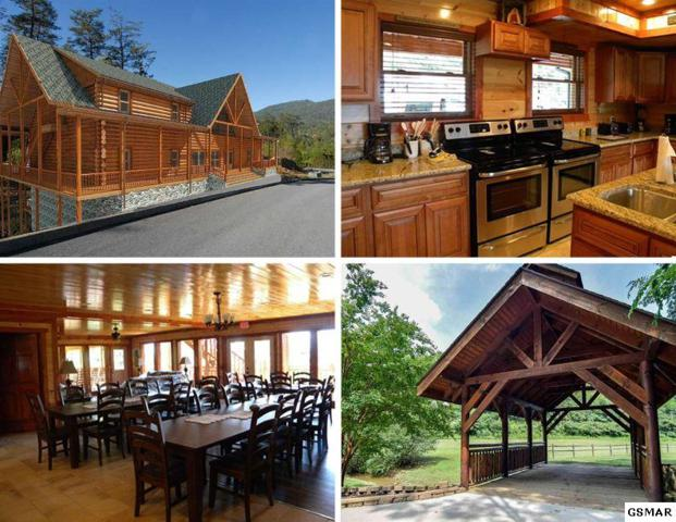 Lot 110&111R Bear Haven Way Pool Cabin, Sevierville, TN 37862 (#205472) :: The Terrell Team